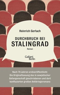 Durchbruch bei Stalingrad (eBook, ePUB) - Gerlach, Heinrich