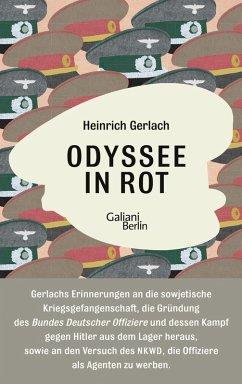 Odyssee in Rot (eBook, ePUB) - Gerlach, Heinrich