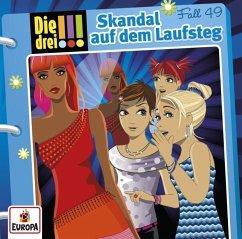 Skandal auf dem Laufsteg / Die drei Ausrufezeichen Bd.49 (Audio-CD) - Sol, Mira