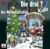 Der Weihnachtsdieb / Die drei Fragezeichen-Kids Bd.57 (Audio-CD)