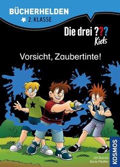 Die drei ??? Kids, Bücherhelden, Vorsicht, Zaubertinte! (drei Fragezeichen) - Blanck, Ulf; Pfeiffer, Boris