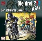Der schwarze Joker / Die drei Fragezeichen-Kids Bd.55 (Audio-CD)