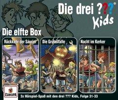 Die drei ??? Kids 3er Box, 3 Audio-CDs - Pfeiffer, Boris; Blanck, Ulf