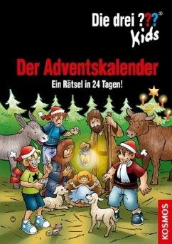 Die drei ??? Kids Adventskalender 8 (drei Fragezeichen) - Pfeiffer, Boris