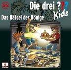 Das Rätsel der Könige / Die drei Fragezeichen-Kids Bd.56 (Audio-CD)