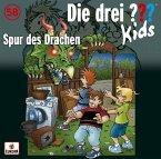 Spur des Drachen / Die drei Fragezeichen-Kids Bd.58 (Audio-CD)