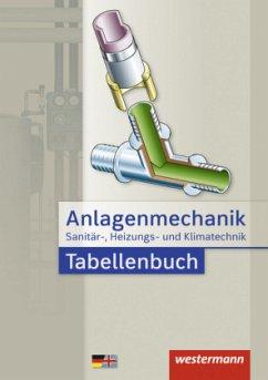 Anlagenmechanik für Sanitär-, Heizungs- und Klimatechnik. Tabellenbuch - Bäck, Hans Joachim; Miller, Wolfgang; Patzel, Otmar; Wagner, Helmut