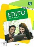 Édito A2. Livre élève + CD MP3 + DVD