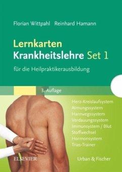 Lernkarten Krankheitslehre Set 1 für die Heilpraktikerausbildung - Wittpahl, Florian; Hamann, Reinhard