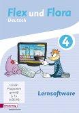 Lernsoftware 4, 1 CD-ROM (Einzelplatzlizenz) / Flex und Flora - Deutsch
