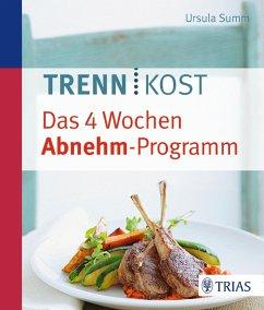 Trennkost - Das 4 Wochen Abnehm-Programm (eBook, ePUB) - Summ, Ursula