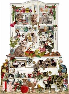 Wand-Adventskalender - Katzen im Advent
