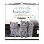 Der himmlische Katzenkalender 2018. Wochenkalender