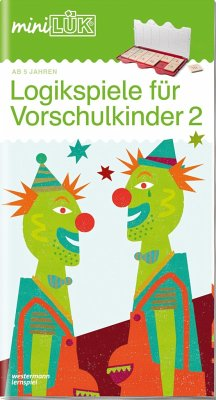 miniLÜK Logikspiele für Vorschulkinder 2