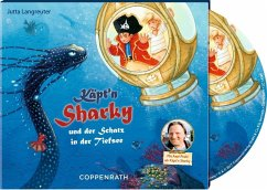 Käpt'n Sharky und der Schatz in der Tiefsee / Käpt'n Sharky Bd.11 (1 Audio-CD) - Langreuter, Jutta