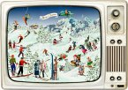 Wand-Adventskalender - Advents-Retro-TV