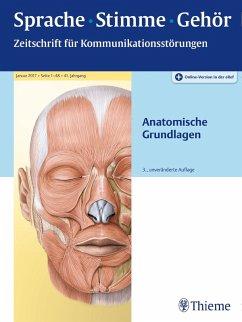 Sprache - Stimme - Gehör - Anatomische Grundlagen (eBook, PDF)