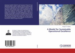 9783330006706 - Beeken, Wimpie F.H.: A Model for Sustainable Operational Excellence - Buch