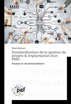 Standardisation de la gestion de projets & implantation d'un PMO
