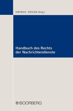 Handbuch des Rechts der Nachrichtendienste