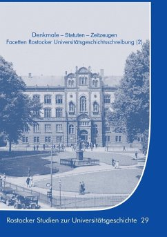Denkmale - Statuten - Zeitzeugen (eBook, ePUB)