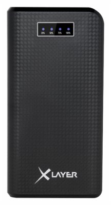 XLayer Powerbank Carbon Black 20000 mAh