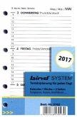 System Kalender A7 2017