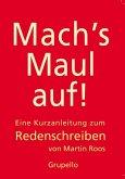 Mach's Maul auf (eBook, ePUB)