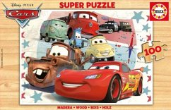 Puzzles Cars Holzpuzzle 100T