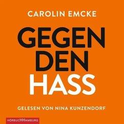 Gegen den Hass, 4 Audio-CDs - Emcke, Carolin