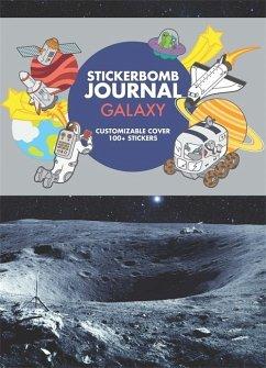 Stickerbomb Journal. Galaxy