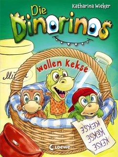 Die Dinorinos wollen Kekse / Die Dinorinos Bd.2 (eBook, ePUB) - Wieker, Katharina