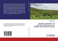 Genetic evaluation of growth performance of Nilagiri and Sandyno sheep