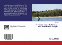 Phytosociological attributes and multivariate analysis