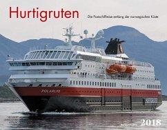Hurtigruten 2018 Großformat-Kalender 58 x 45,5 cm