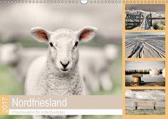 9783665587727 - Cale, Rob: Nordfriesland - Urlaubsregion für Individualisten (Wandkalender 2017 DIN A3 quer) - Buch