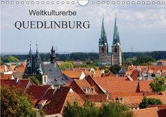 9783665587635 - Fröhlich, Klaus: Weltkulturerbe Quedlinburg (Wandkalender 2017 DIN A4 quer) - Buch
