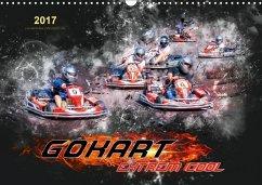 9783665587574 - Roder, Peter: GoKart - extrem cool (Wandkalender 2017 DIN A3 quer) - Buch