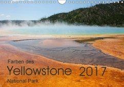 9783665587673 - Zimmermann, Frank: Farben des Yellowstone National Park 2017 (Wandkalender 2017 DIN A4 quer) - Buch