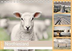 9783665587741 - Cale, Rob: Nordfriesland - Urlaubsregion für Individualisten (Tischkalender 2017 DIN A5 quer) - Buch
