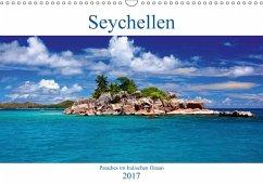 9783665587765 - Amler, Thomas: Seychellen - Paradies im Indischen Ozean (Wandkalender 2017 DIN A3 quer) - Buch