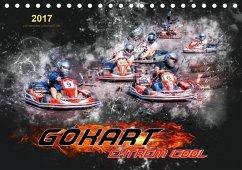 9783665587598 - Roder, Peter: GoKart - extrem cool (Tischkalender 2017 DIN A5 quer) - Buch