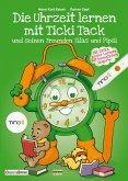 Die Uhrzeit lernen mit Ticki Tack und seinen Freunden Silas und Pipsi