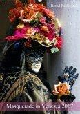 Masquerade in Venezia (Wandkalender 2017 DIN A2 hoch)