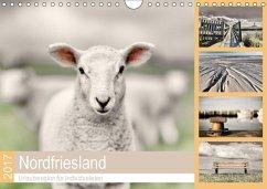 9783665587710 - Cale, Rob: Nordfriesland - Urlaubsregion für Individualisten (Wandkalender 2017 DIN A4 quer) - Buch