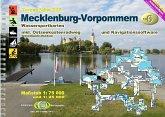 Mecklenburg-Vorpommern / Jübermann TourenAtlas Wasserwandern Bd.6
