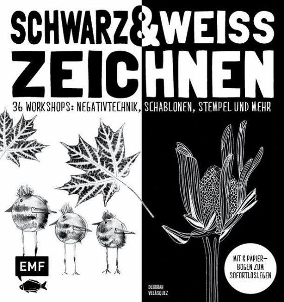 Schwarz Weiß Zeichnen Von Deborah Velasquez Portofrei Bei Bücher