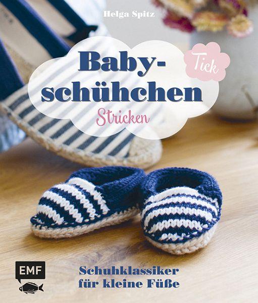 Babyschühchen Tick Schuhklassiker Für Kleine Füße Stricken Von