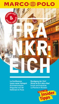 MARCO POLO Reiseführer Frankreich - Markert, Barbara