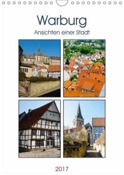 9783665587963 - Lambrecht, Markus W.: Warburg - Ansichten einer Stadt (Wandkalender 2017 DIN A4 hoch) - Buch